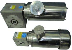 Червячные мотор редукторы из нержавеющей стали